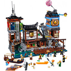 Lego Ninjago Movie 70657 Порт Ніндзяго Сіті